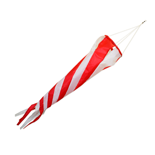 Windturbine 90 red/white
